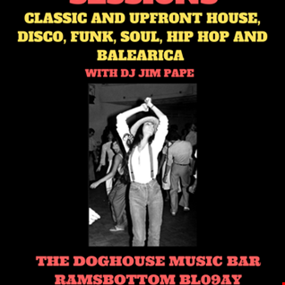 ECLECTIC SESSIONS at 'THE DOGHOUSE MUSIC BAR' RAMSBOTTOM 13.03.20