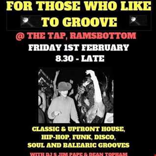 JIM PAPE & DEAN TOPHAM AT 'FOR THOSE WHO LIKE TO GROOVE ' PART TWO