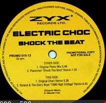 SHOCK THE BEAT - ELECTRIC CHOC   JIM'S LIVE WIRE REWORK