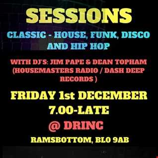 JIM PAPE AND DEAN TOPHAM LIVE AT DRINC. RAMSBOTTOM 1.12.17