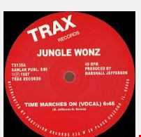 THE JUNGLE WONZ - TIME MARCHES ON (JIM'S ACID BOOTLEG)