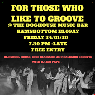 FOR THOSE WHO LIKE TO GROOVE 24.01.20 PROMO MIX