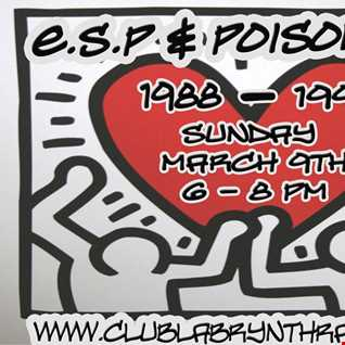 E.S.P & Poison KIOS Club Labrynth Radio 9 march 14