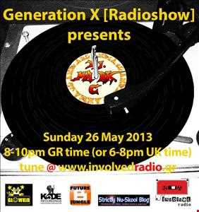 Generation X [Radio Show] pres. DJ MARK C (UK) on the Guest Mix 26 May2013