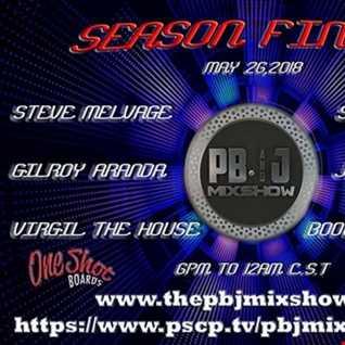 P.B.& J. Mix Internet Radio Show 5 26 18   Steve Santoyo