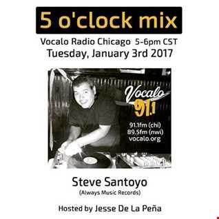 Vocalo MIx 91.1 FM   SteveSantoyo 2017