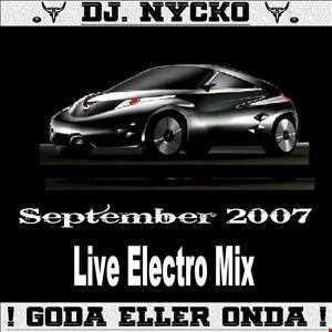 Nycko   Mix Electro September 2007