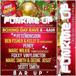 Dj Vinyldoctor   Funkme up Boxing Day 2015