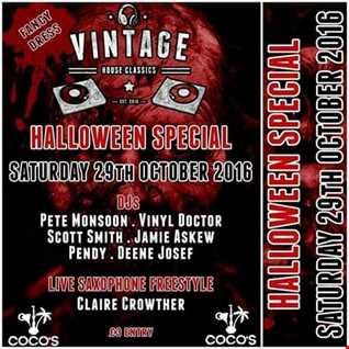 Dj Vinyldoctor @ Vintage - Hallowen Ball - 29-10-2016
