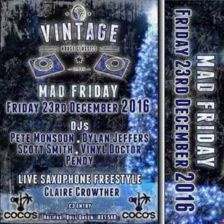 Dj Vinyldoctor @ Vintage   Mad Friday   23 12 16