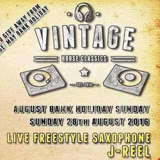 Dj Vinyldoctor @ Vintage -  Bank Holiday Sunday - 28-08-2016