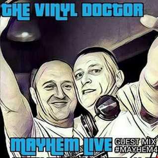 Dj Vinyldoctor -  Happy Hardcore Guest Mix on The Sweenee Show -  Mayhem Radio 04 01 2017