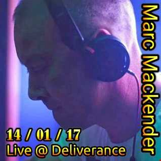 Marc Mackender live at Deliverance