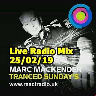 Marc Mackender   React Radio 25th Feb