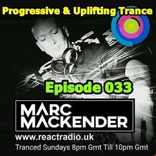 Marc Mackender   Uplifting Trance 033