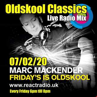 Marc Mackeder   Oldskool Fridays live radio mix...