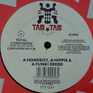 A Homeboy, A Hippie & A Funki Dredd - Total Confusion (Steil Mix)