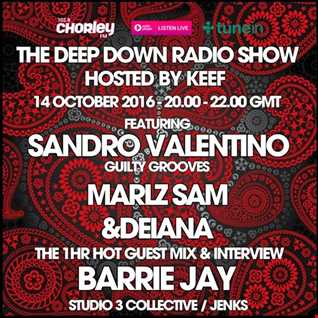 DEEP DOWN RADIO SHOW guest mix (October 2016)