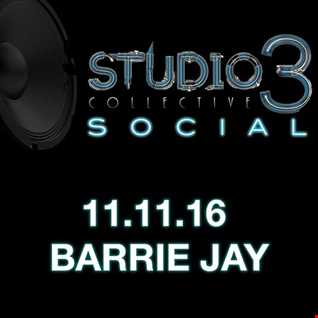 Live at Studio 3 Collective Social on 11 November 2016