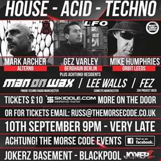 10.09.16 (Live at Achtung) with Mark Archer/ Gez Varley/ Mike Humphries BY MAN ON WAX