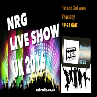 NRG Live Show UK 2016   7jan   Stex djset - Nsb Radio