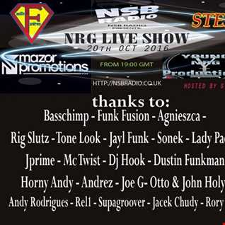 NRG Live Show  - Dustin Funkman and Stex  - 20 Oct 2016