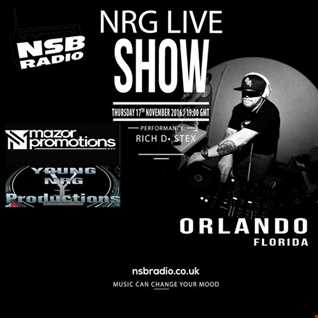 NRG Live Show - NSBRadio -17th Nov   RichD and Stex