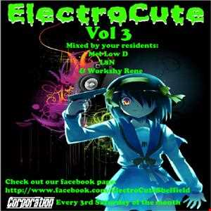 ElectroCute Vol 3 Mixed By Your Residents Workshy Rene, L8N & Mel-Low D