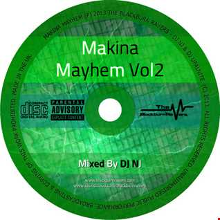 DJ NJ - Makina Mayhem Volume 2