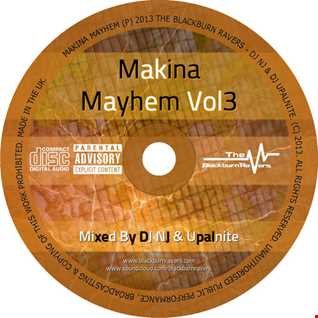 Upalnite b2b DJ NJ -  Makina Mayhem Vol3