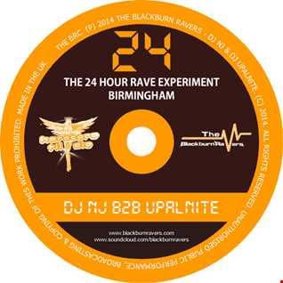 DJ NJ b2b Upalnite - HTID - 24 Hour Rave Experiment 20/09/2014