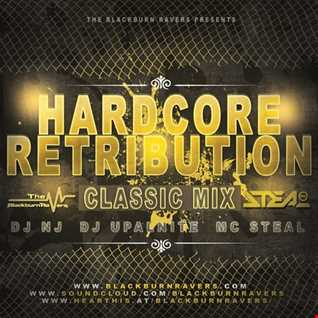 DJ NJ & Upalnite Feat. MC Steal - Hardcore Retribution (Classic Mix)