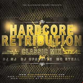 DJ NJ & Upalnite Feat. MC Steal - Hardcore Retribution (Classic Mix)