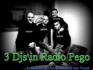 3Djs in Radio Pego (Live session)