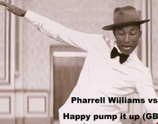 Pharrell Williams vs Zomboy   Happy pump it up (GB3MIX work)