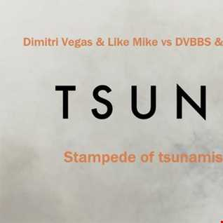 Dimitri Vegas & Like Mike vs DVBBS & Borgeous feat. Tinie Tempah   Stampede of tsunamis (GB3MIX work)