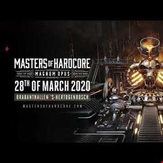 Masters of Hardcore 2020 Magnum Opus Warm Up Mix