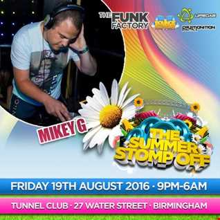 Mikey G - Summer Stomp Off Promo Mix June 2016 (Jackin House/Bass - Free Download)