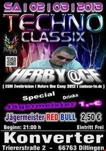 Herby@CF Live @Techno Classix (Konverter Dillingen 02.03.2013)