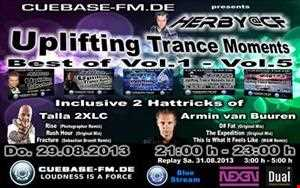 Herby@CF   Uplifting Trance Moments   Best Of Vol.1   Vol.5 on cuebase fm.de (29.08.2013)