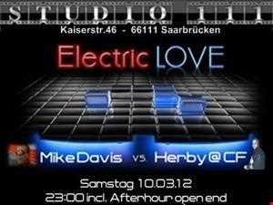 Herby@CF vs. Mike Davis   Electric Love   Live @Studio 111 Saarbrücken (10.03.2012)