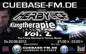 Herby@CF   Klangtherapy Vol.2 @ cuebase fm.de (22.08.2013)
