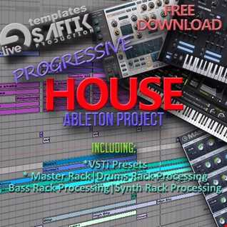Ableton Live Project Progressive House - Click BUY for FREE Download