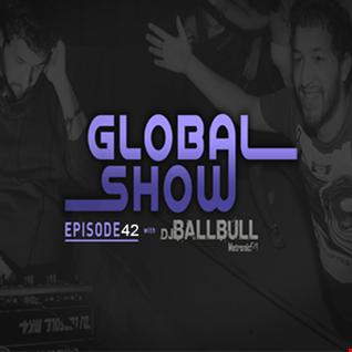 DJ Ballbull - GlobalShow 42 Especial 04-04-2016