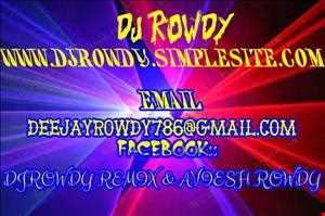 D.j Rowdy- ONE TWO THEEE GET ON DA DANCE FLOOR (remix)