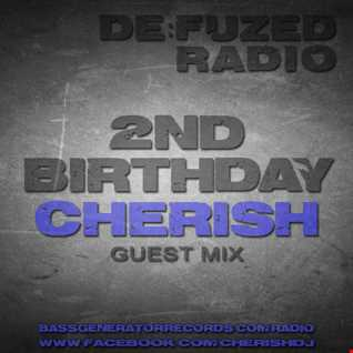 Cherish DeFuzed Radio Show Jan 2016 with drops