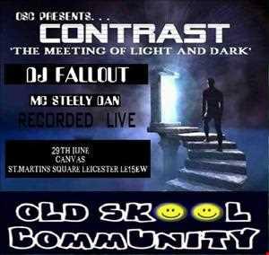dj fallout & mc steely dan   osc presents contrast   canvas   29 6 13