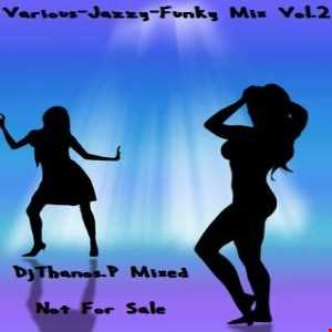 Various   Jazzy Funky Mix Vol.2 Dj Thanos.P