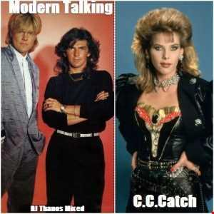 Modern Talking  C.C Catch Greatest Hits Mixed DjThanos.P
