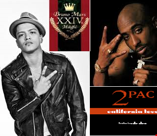 24K California Magic Love - 2pac vs Bruno Mars Mashup